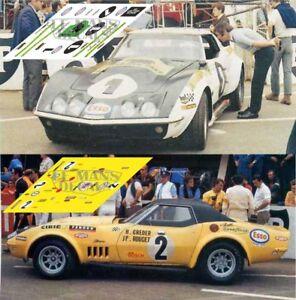 Calcas-Chevrolet-Corvette-C3-Le-Mans-1970-1-2-1-32-1-43-1-24-1-18-87-slot-decals
