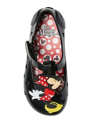 Disney Minnie Mouse Casual Jelly Shoe Size 10 Toddler Girls