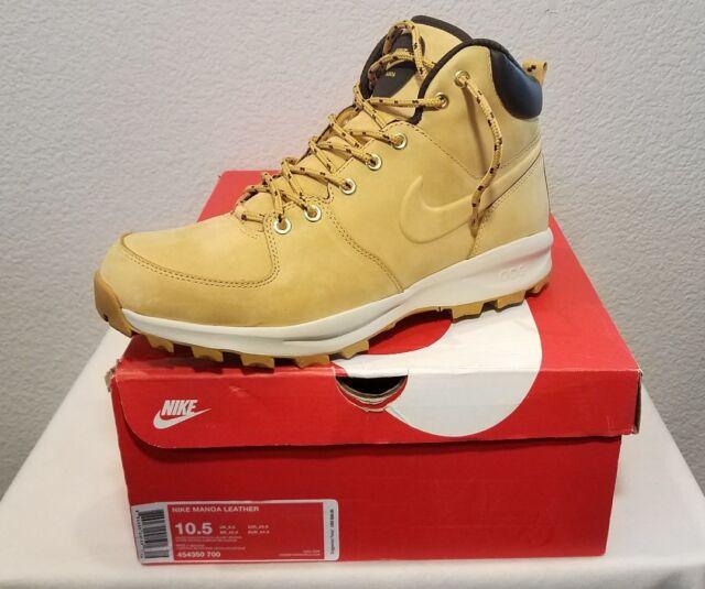 pretty nice dea4c f3038 Nike Manoa Leather Boots (454350-700) Haystack-Velvet Brown