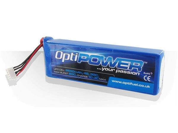 OptiPower Lipo Batería 5000 mAh 4S (4 celdas) 30 C