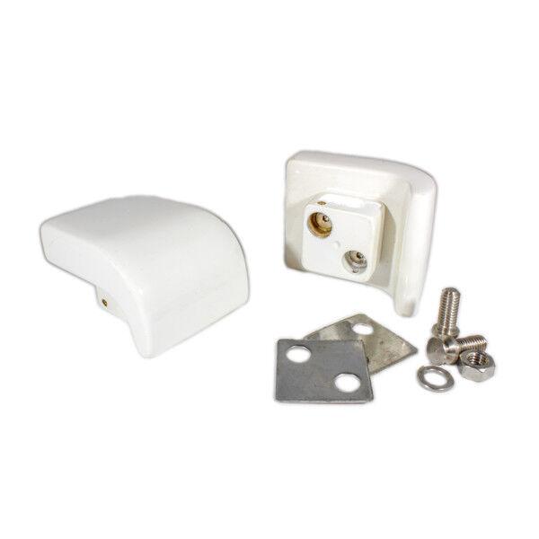 consegna e reso gratuiti Coppia Maniglie Maniglie Maniglie per vasca Grandform in metallo bianco con viti  mod. tango  più preferenziale