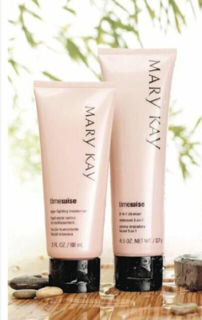 Mary Kay TimeWise 3 in 1 Cleanser & Age Fighting Moisturizer ~ Normal-Dry Skin