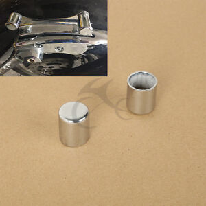 2 X Docking Hardware Point Cover Kit For Harley Road King Street Glide Electra