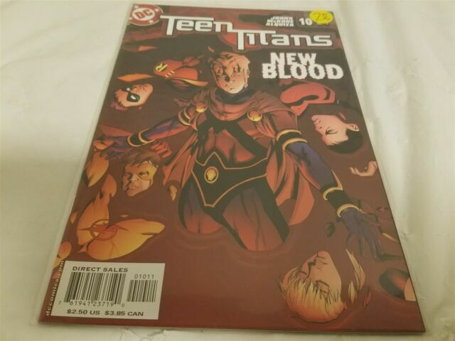 Teen Titans 1 B 3rd Series DC 2003 NM Michael Turner Variant for sale online
