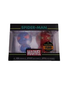 Funko Hikari Marvel Spider-Man Red & Blue Figures Limited Edition 1500pc Vinyl