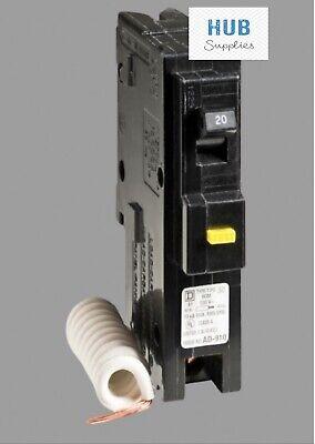 Square D HOM120GFI 20 Amp Circuit Breaker for sale online