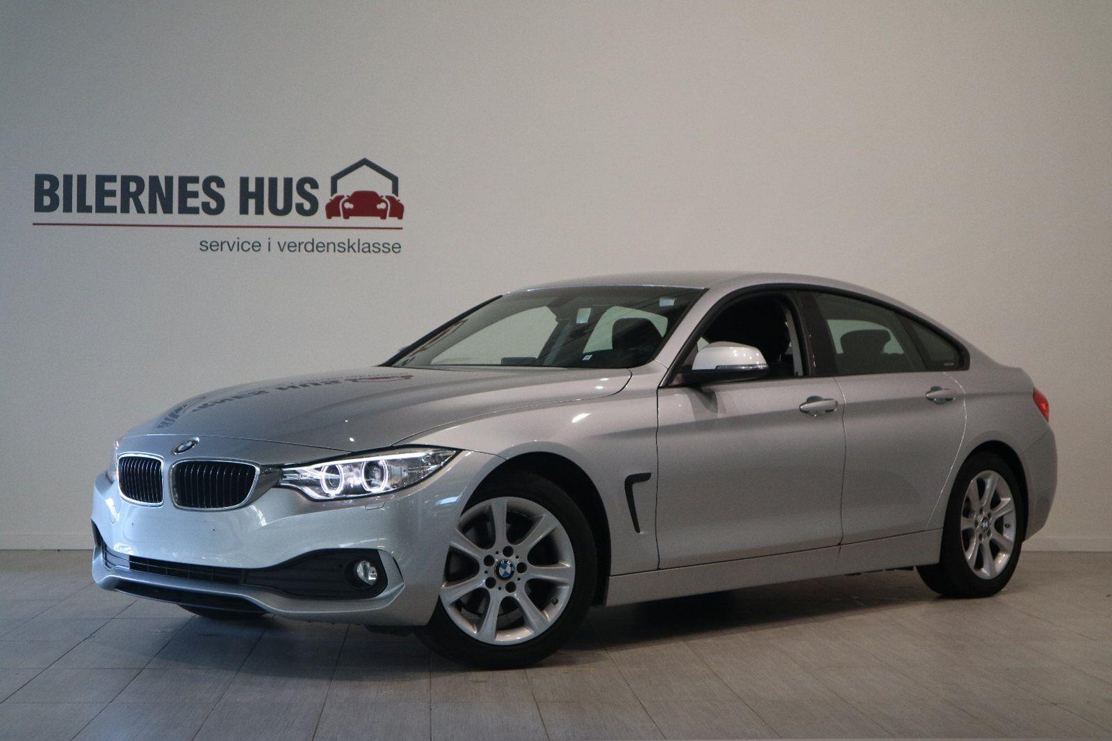 BMW 420d 2,0 Gran Coupé aut. 5d - 337.880 kr.