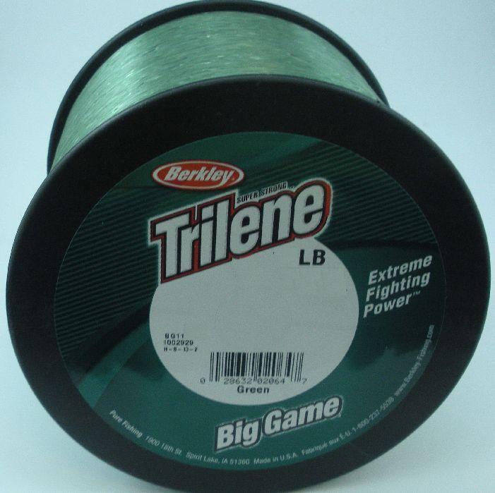Berkley BG180-22 80 Lb Big Game Monofilament Line 1 Lb Spool Low Vis Green 10553
