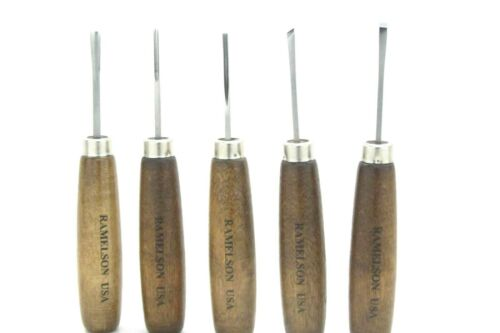 Ramelson Subminiature Wood Carving Chisels Tool Set 106M Woodworking