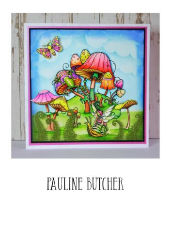 A5 or A6 Clear Stamp Sets Stamps To Inspire Pink Ink Designs FREE UK P/&P