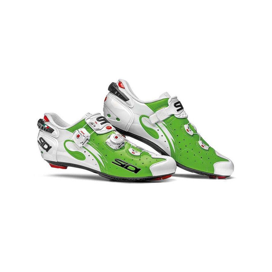 Sidi Wire Road Cycling scarpe biancaverde Eu 42
