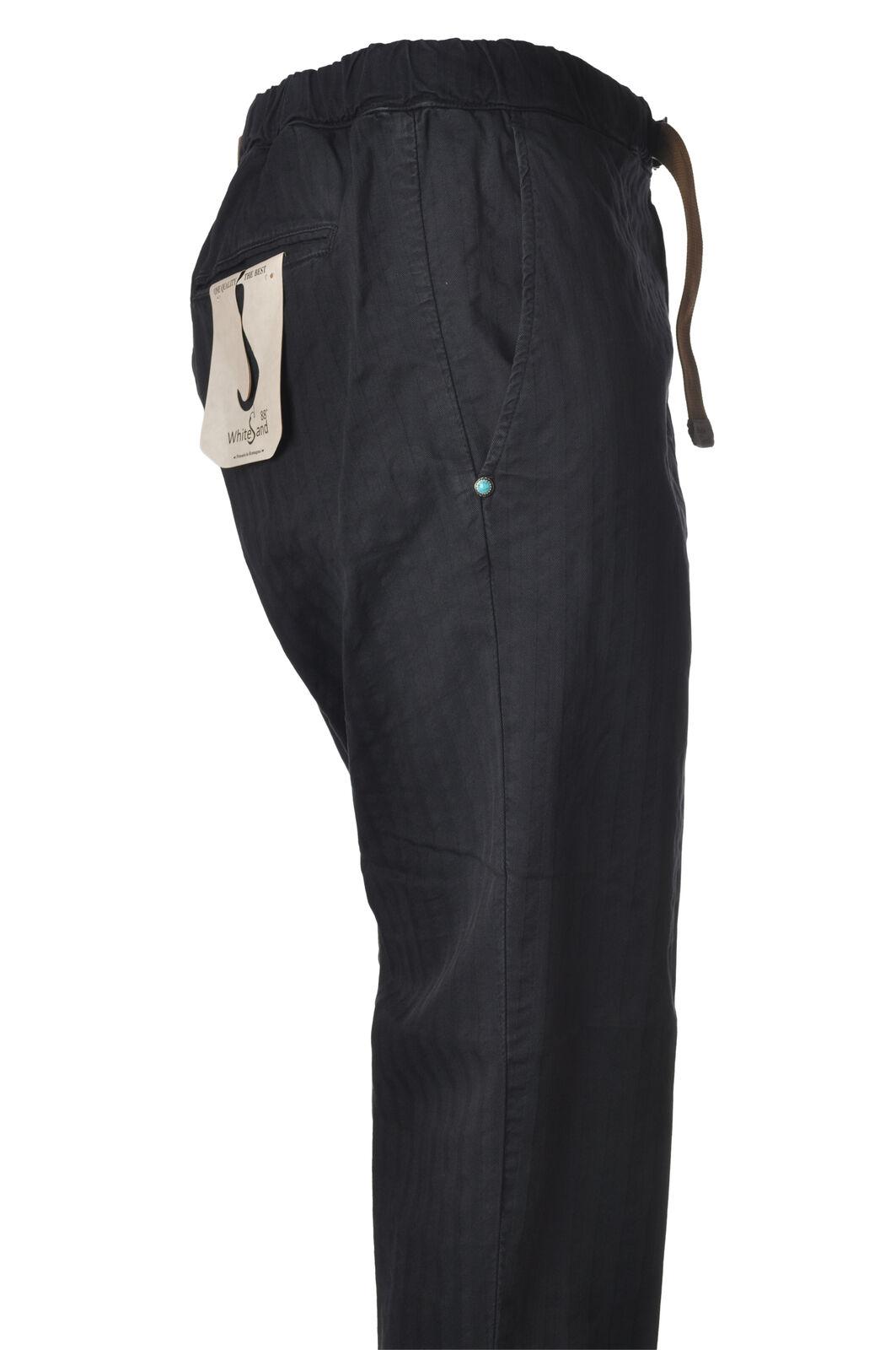 bianca sand - Pantaloni-Pantaloni - Uomo - Blu - 6044415C191202
