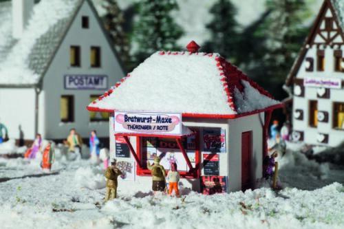 VOLLMER 47625-Kiosque une saucisse-maxE avec neige-PISTE N-Neuf