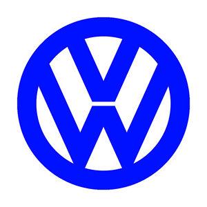 Volkswagen Logo 3m Scotchlite Reflective Decal Sticker