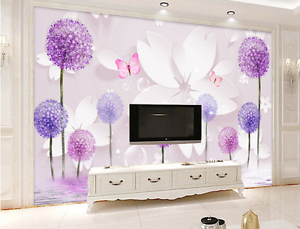 3D Butterfly Bubble Petal 76 Paper Wall Print Wall Decal Wall Deco Indoor Murals