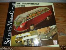 Schrader Motor Chronik VW Transporter / Bus 1949-67 VW Samba Bus * Doka  T1 & T2