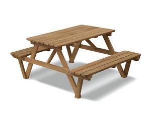 Peachy Details About Teak Heavy Duty Picnic Table 1 8M C 6Ft Pub Garden Patio Outdoor Park Bench Customarchery Wood Chair Design Ideas Customarcherynet
