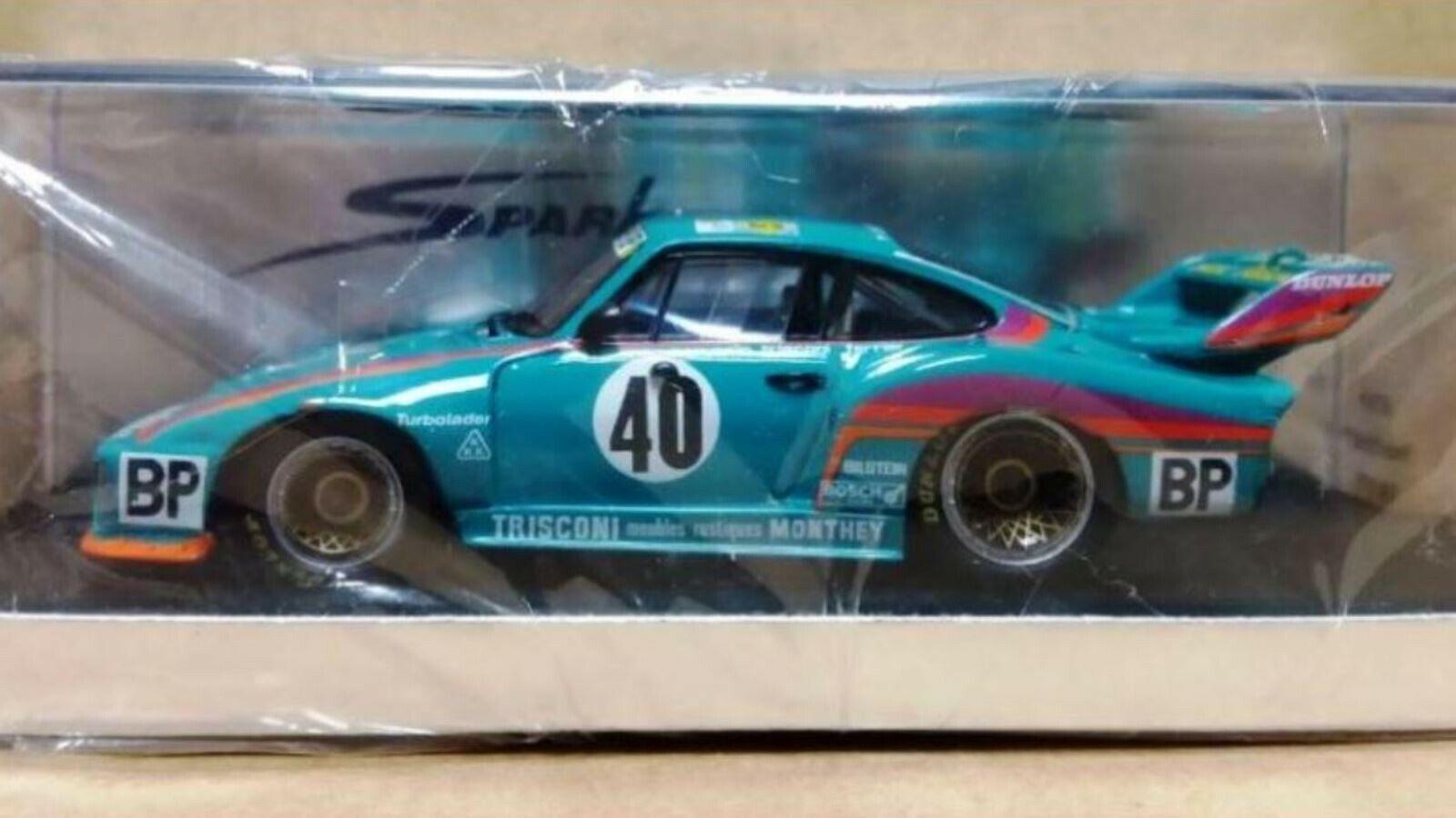 Wow EXTRÊMEMENT RARE PORSCHE 935 1979 Turbo  40 BP 3rd 24 H DU MANS resin 1 43 Spark