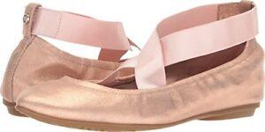 Taryn-Rose-Womens-Edina-Powder-Metallic-Ballet-Flat-Select-SZ-Color