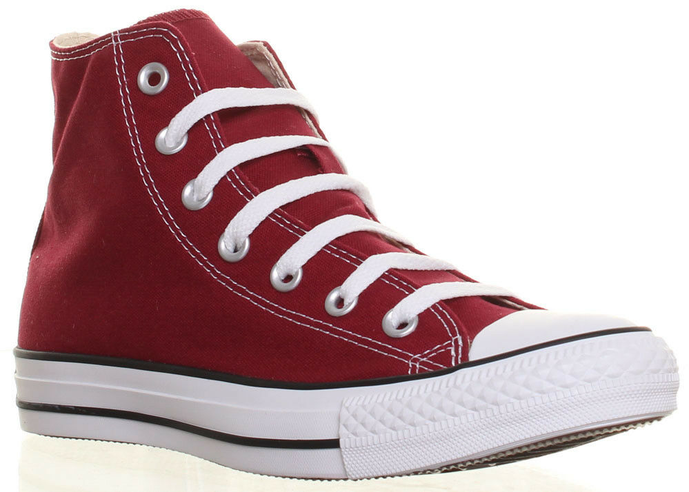 Converse All Star Chuck Taylor High Top Maroon Trainers