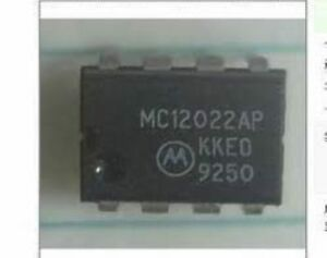 1PCS//5PCS MC12022AP MC12022 1.1GHz Dual Modulus Prescaler DIP8