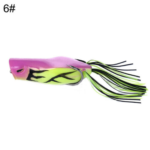 7cm Big Mouth Ray Frog Fishing Lure Artificial Frog Bait Frog Road Bait Surprise