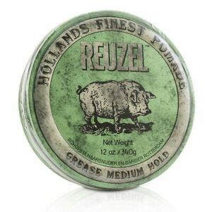 Reuzel-Green-Pomade-Grease-Medium-Hold-340g-Styling-Hair-Pomade