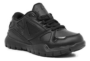 9dcbd566480d Fila Side By Side Kids Youth Running Shoes Sneakers Black Black