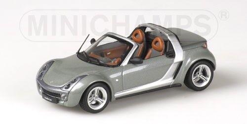 Smart Smart Smart Roadster 2003 Cabrio gris Metallic 1 43 Model MINICHAMPS ae6e4d