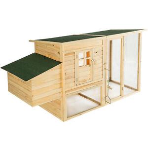 Poulailler-enclos-cage-cabane-a-poules-lapins-clapier-en-bois