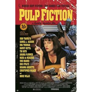 PULP FICTION - CLASSIC MOVIE POSTER 24x36 - TARANTINO THURMAN 160599