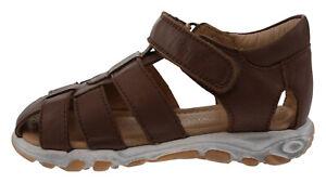 Pom Pom 17126001 Sandali In Pelle Marrone 186916 Elegant Appearance Boys' Shoes