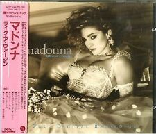 Madonna Like A Virgin 32XP-102 W/obi 日版 japan press