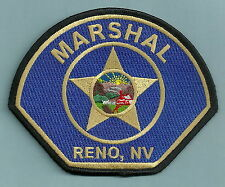 RENO MARSHAL LAS VEGAS NEVADA POLICE PATCH