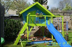 Hervorragend Bauanleitung Bauplan für Spielhaus Stelzenhaus Kinder Gartenhaus CQ22