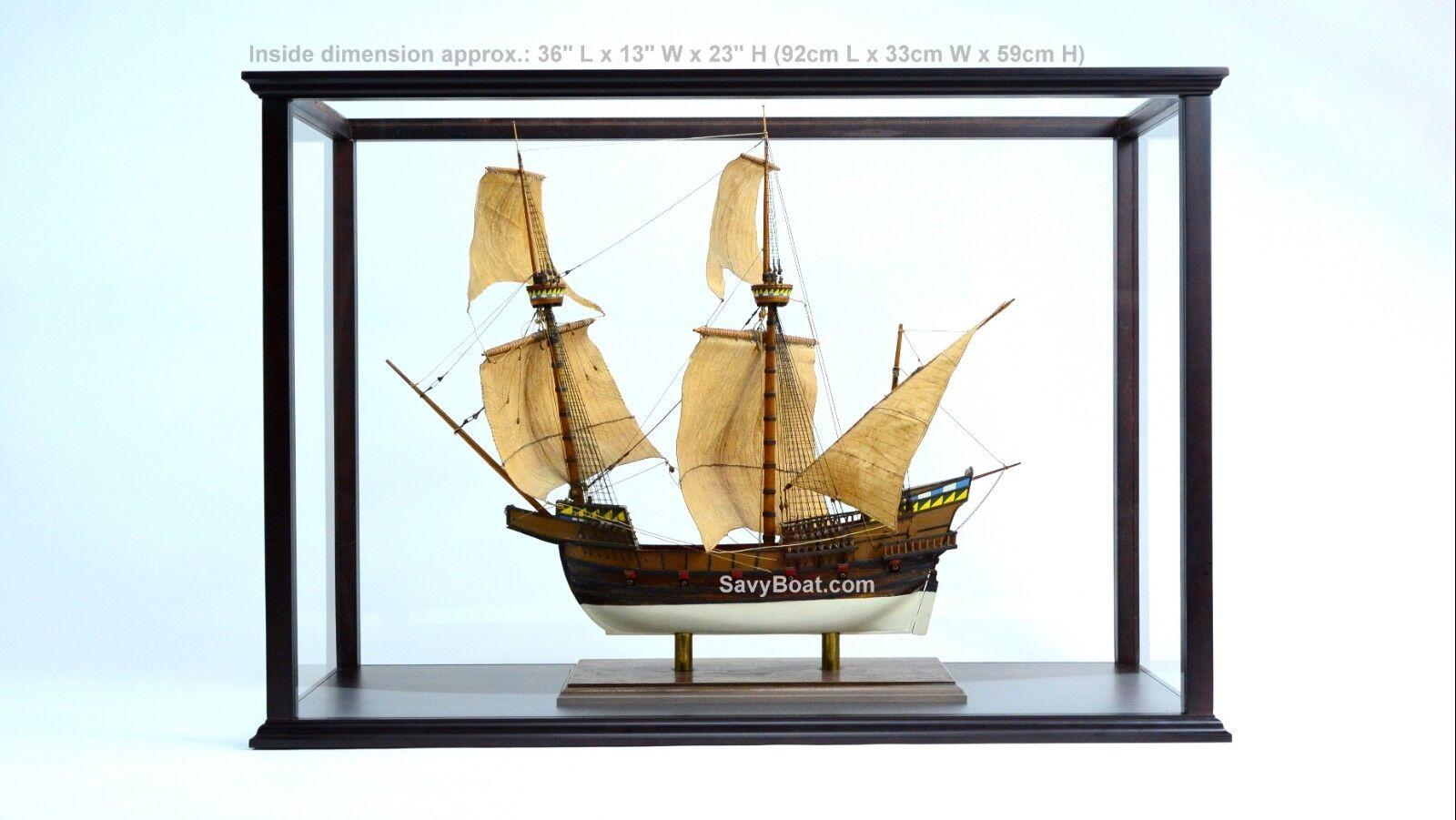 Caso de exhibición para barco, remolcador Modelo 32  de alto con plexiglás