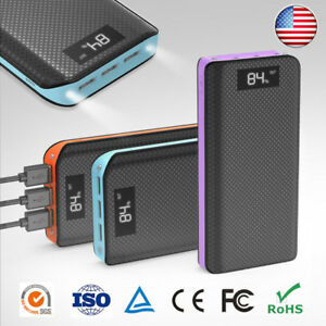 Details about Portable 300000mAh Power Bank Backup External USB Battery  Charger for Cell Phone 884098f23e