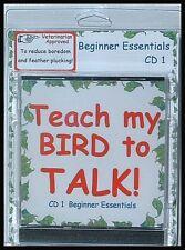 Teach My Bird to Talk cd1 - Beginner Essentials