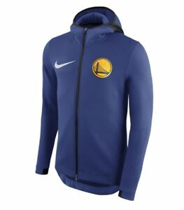 NIKE GOLDEN STATE WARRIORS THERMA FLEX SHOWTIME NBA FULL ZIP HOODIE ... b9ccf2e8a