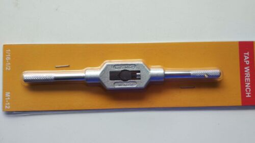 NEW Adjustable Tap Handle /& Reamer Wrench M1 to M12 1//16-1//2