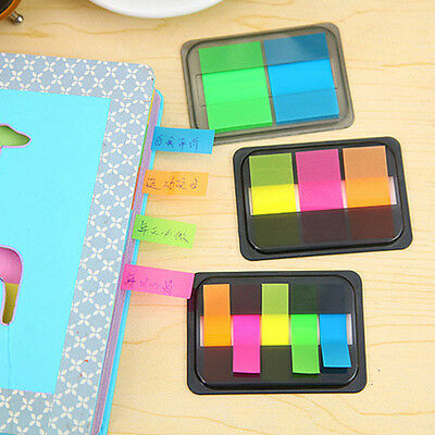 Colorful Sticker Bookmark Point It Marker Memo Flags Sticky Notes