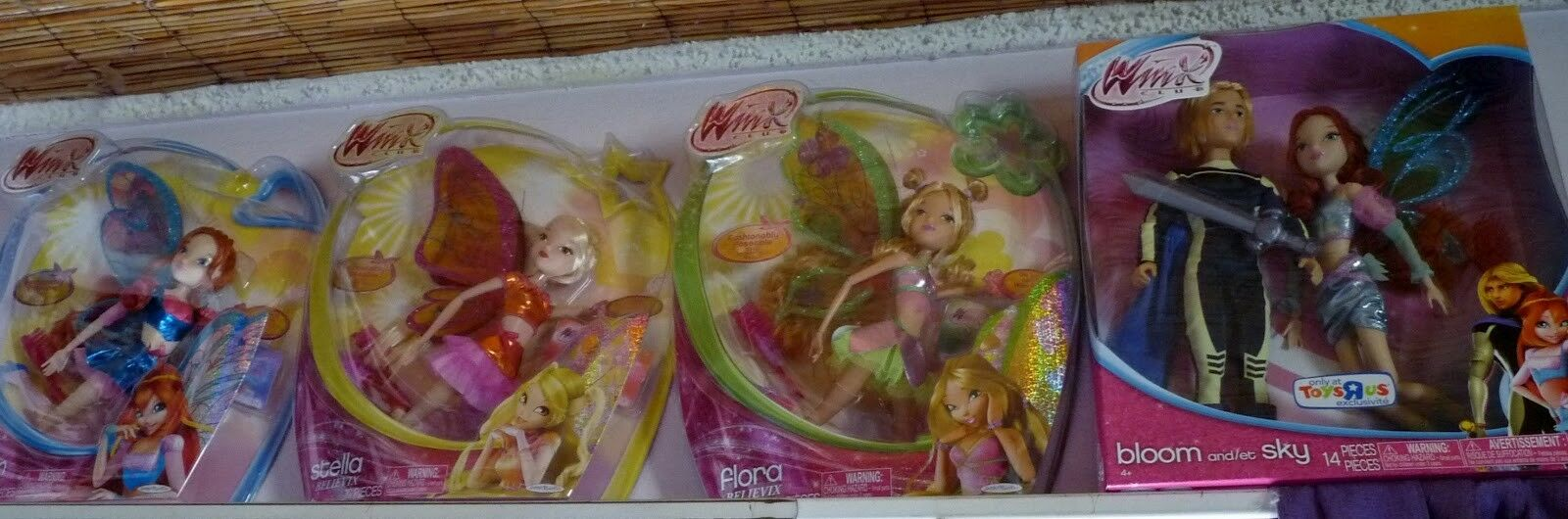 WINX CLUB Sophix BLOOM And SKY Set Believix Bloom Stella Flora