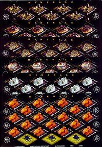 2006 Minerals,Gems,Quartz,Ametiste,Minerale,Mineralien,Romania,Mi.6099,KB,MNH