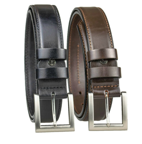 Concealed Carry CCW Leather Gun BeltFull Grain Leather Belt 1-1//2 inch 40mm