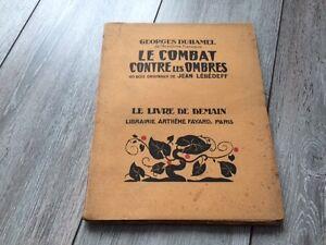 Livre de Demain - Le Combat contre les Ombres - G Duhamel - Etat Moyen - France - Reliure: Couverture souple Auteur: Duhamel Georges - France
