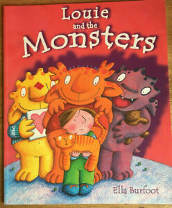 Louie-and-the-Monsters-by-Ella-Burfoot-Paperback-Book-Childrens-Fiction-PB-2005
