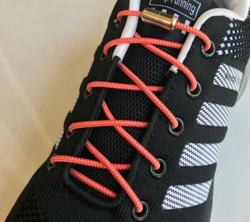 1 pair lazy No Tie Elastic lock laces Shoe laces for dress shoes tennis toddlers