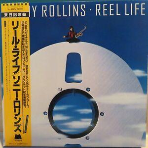 Sonny-Rollins-Reel-Life-VLJ-6391-1982-Jazz-LP-Japan-NM-Vinyl-Sleeve-OBI
