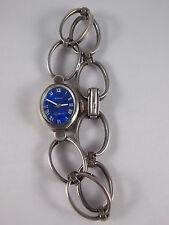 Vintage Damenuhr EPPO aus 835 Silber 60er 70er mechanisch Space Age Blogger DAU