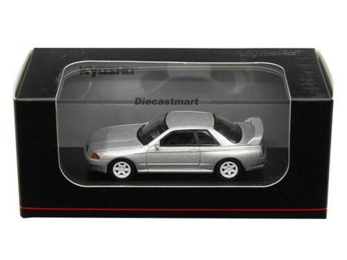 KYOSHO NISSAN SKYLINE GT-R BCNR33 R33 1:64 DIECAST MODEL CAR BLUE WHITE NEW
